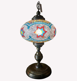 "14"" Mosaic Table Lamp"
