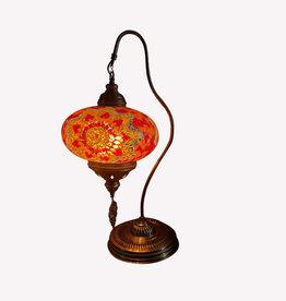 """9"""" Half Heart Table Lamp"""