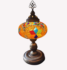 "9"" Mosaic Table Lamp"