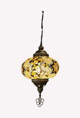 """9"""" Hanging Mosaic Lamp"""