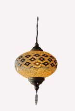 """14"""" Hanging Mosaic Lamp"""