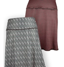 Green 3 Apparel Cat & Houndstooth Reversible Sport Skirt