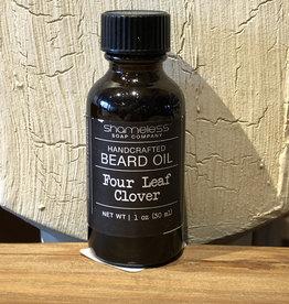 Shameless Soap Co Four Leaf Clover Beard Oil