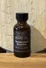 Shameless Soap Co Sandalwood Bourbon Beard Oil
