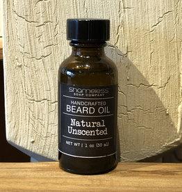 Shameless Soap Co Natural Unscented Beard Oil