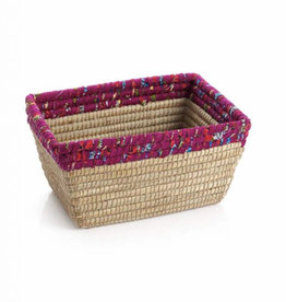 Berry Chindi Rim Rectangle Basket