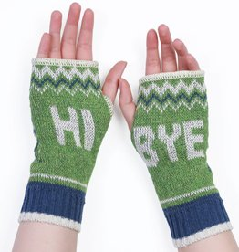 Green 3 Apparel Hi Bye Handwarmers