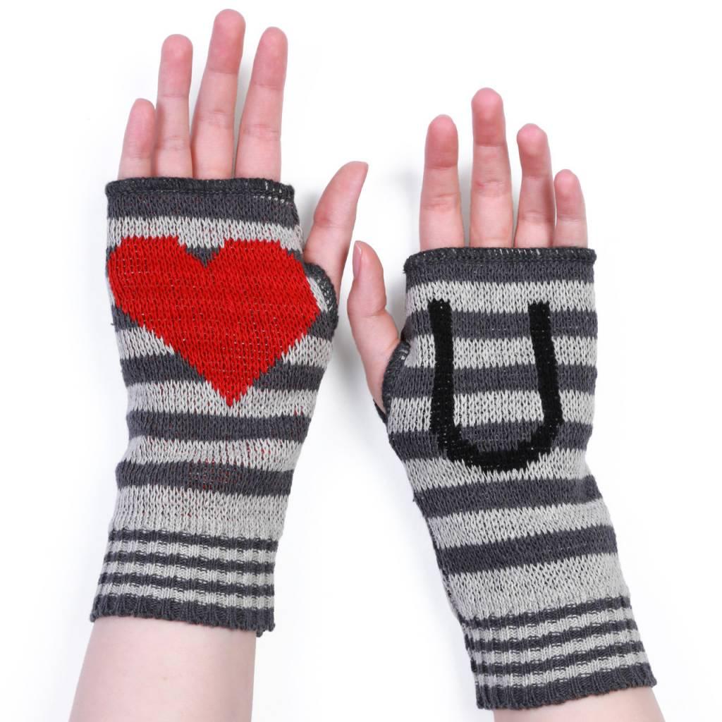 Green 3 Apparel Love U Handwarmers