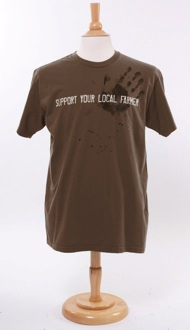Green 3 Apparel Unisex Support Your Local Farmer