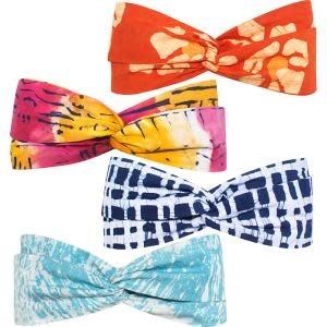Global Mamas TS Batik Headband Twist