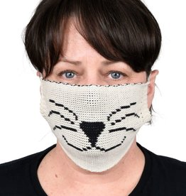Green 3 Apparel Kitty Sweater Knit Face Mask