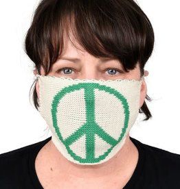 Green 3 Apparel Peace Sweater Knit Face Mask