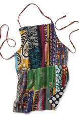 SERRV Kantha Patchwork Pocket Apron