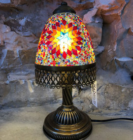 Natto Retro Mosaic Desk Lamp