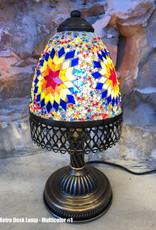 Natto Retro Mosaic Desk Lamp