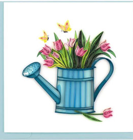 Quilling Card Happy Gardening