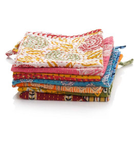 SERRV Kantha Dishcloth