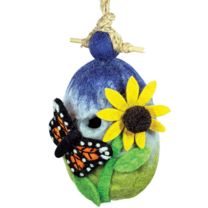 dZi Butterfly Garden Birdhouse