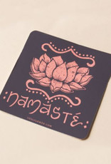 Soul Flower Namaste Lotus Sticker