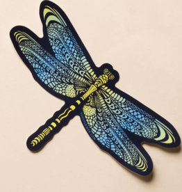 Soul Flower Dragonfly Sticker