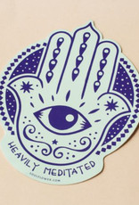 Soul Flower Heavily Meditated Sticker