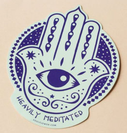 Soul Flower Heavily Meditated Sticker