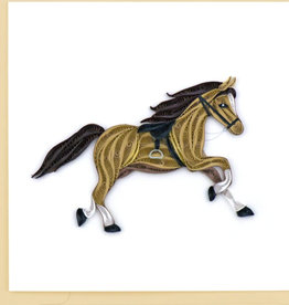 Quilling Card Horse Quilling Card