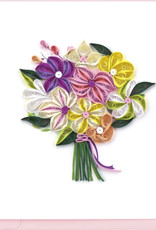 Quilling Card Floral Bouquet