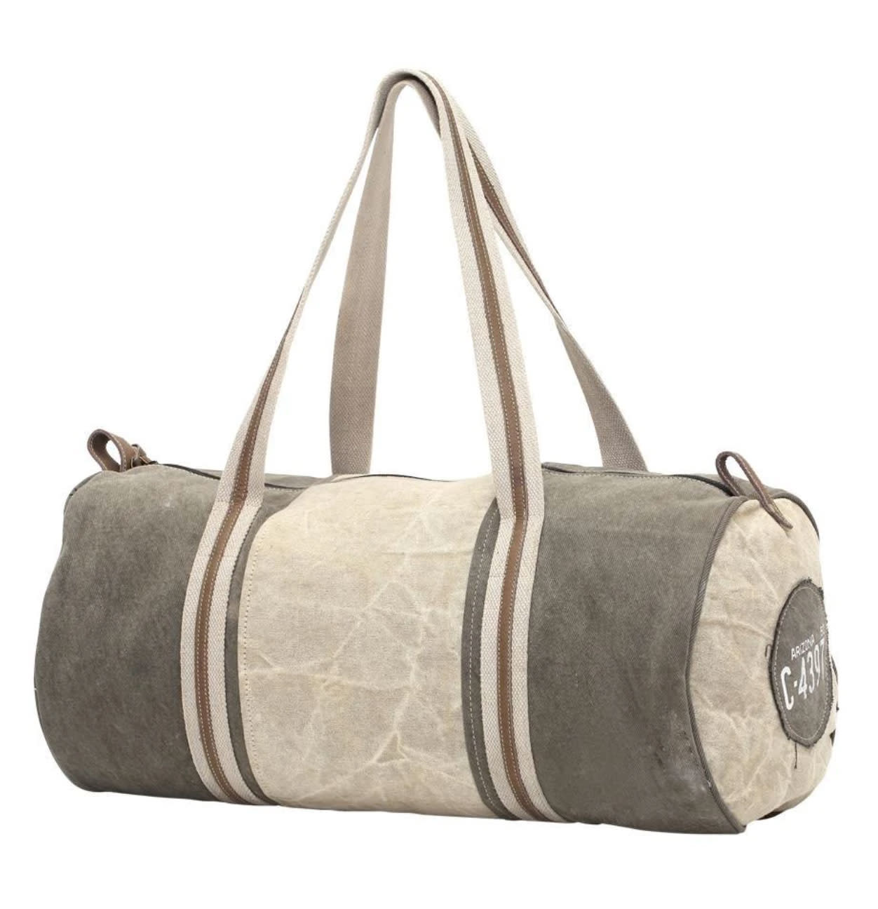 Myra Bag Handmade Duffel Bag