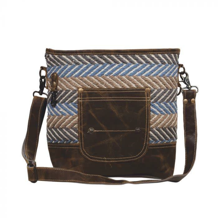 Myra Bag Criss-Cross Shoulder Bag