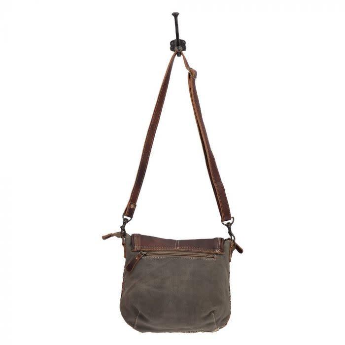 Myra Bag Crack Flap Bag