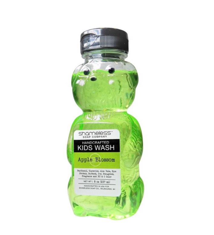 Shameless Soap Co Apple Blossom Bubble Bear