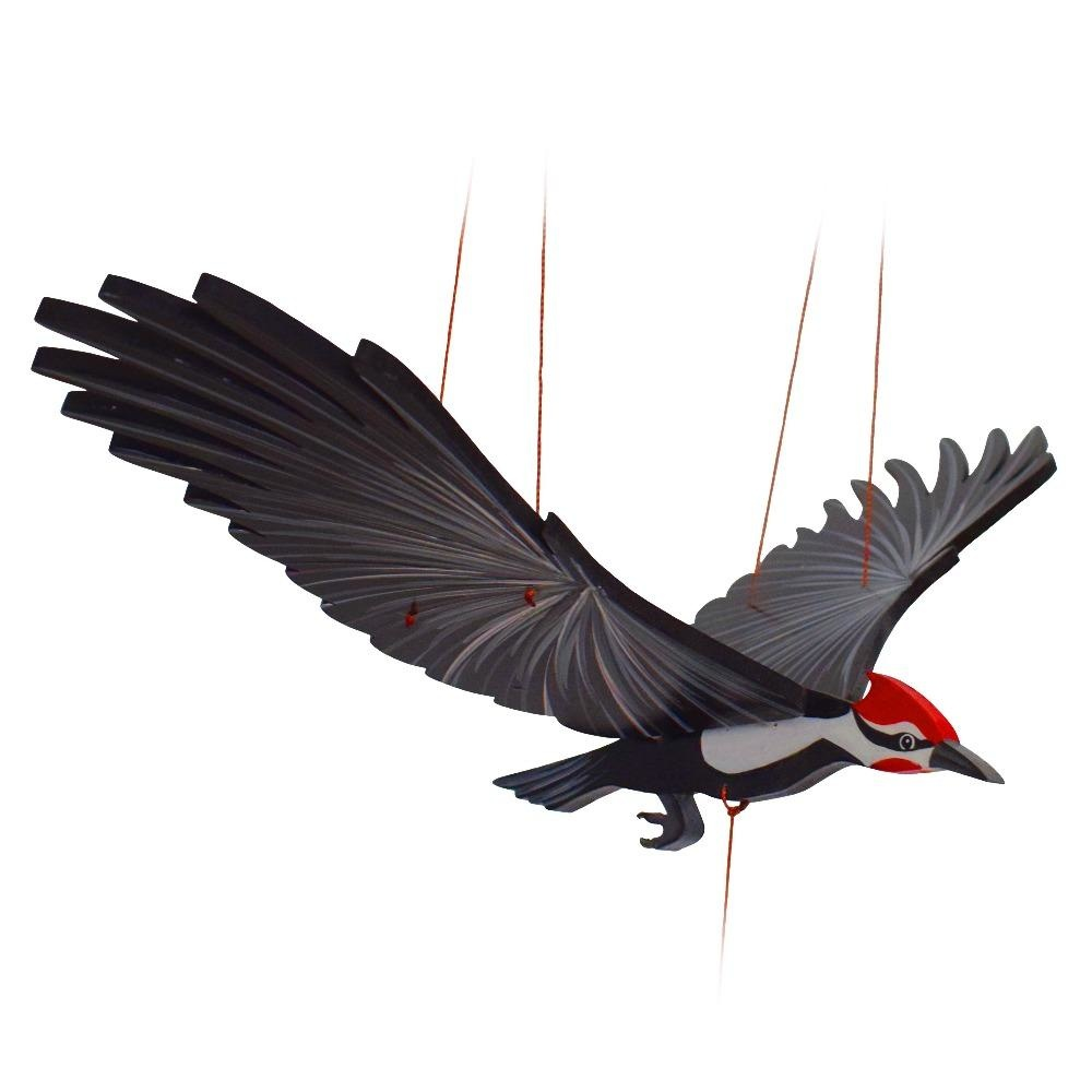 Tulia's Artisan Gallery Woodpecker Mobile