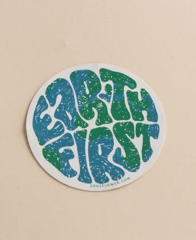 Soul Flower Earth First Sticker