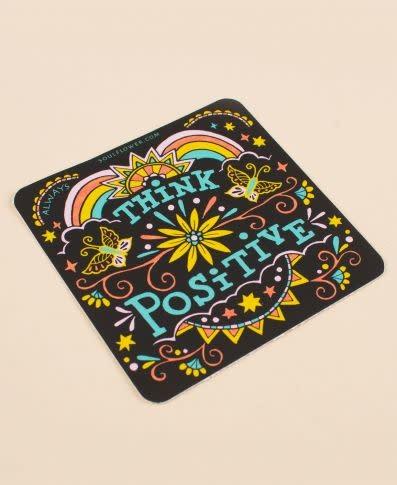 Soul Flower Think Positive Sticker