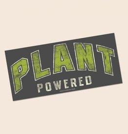 Soul Flower Plant Powered Mini Bumper Sticker