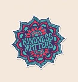 Soul Flower Kindness Matters Sticker