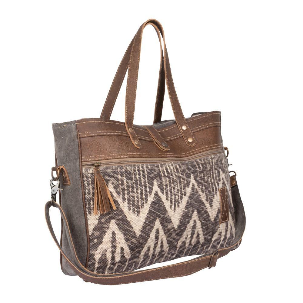 Myra Bag Hot Brownie Weekender Bag