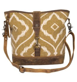 Myra Bag Brown Aesthetics Shoulder Bag
