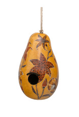 Lucuma Lilies Gourd Birdhouse