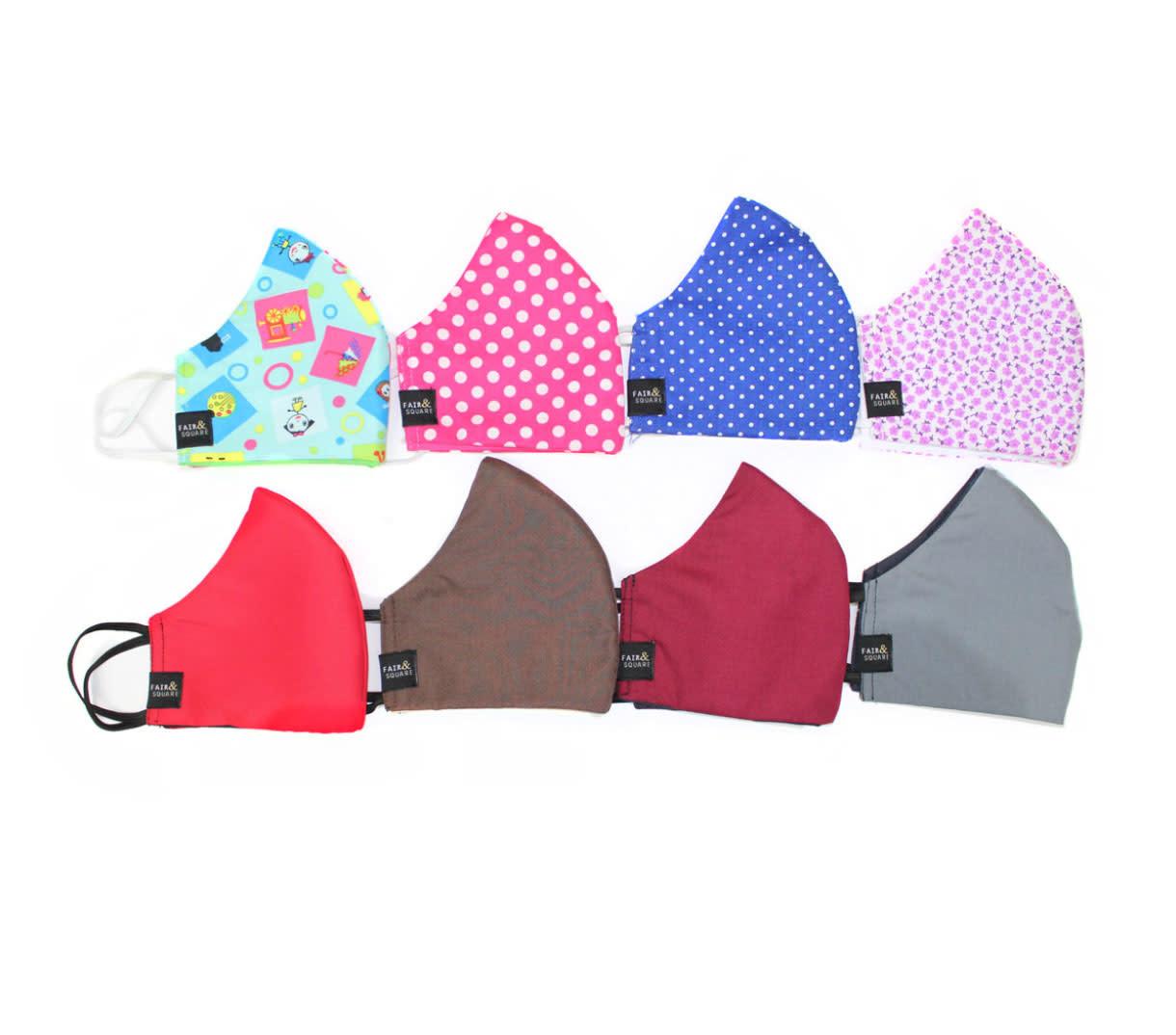 Minga Imports Fabric Face Mask