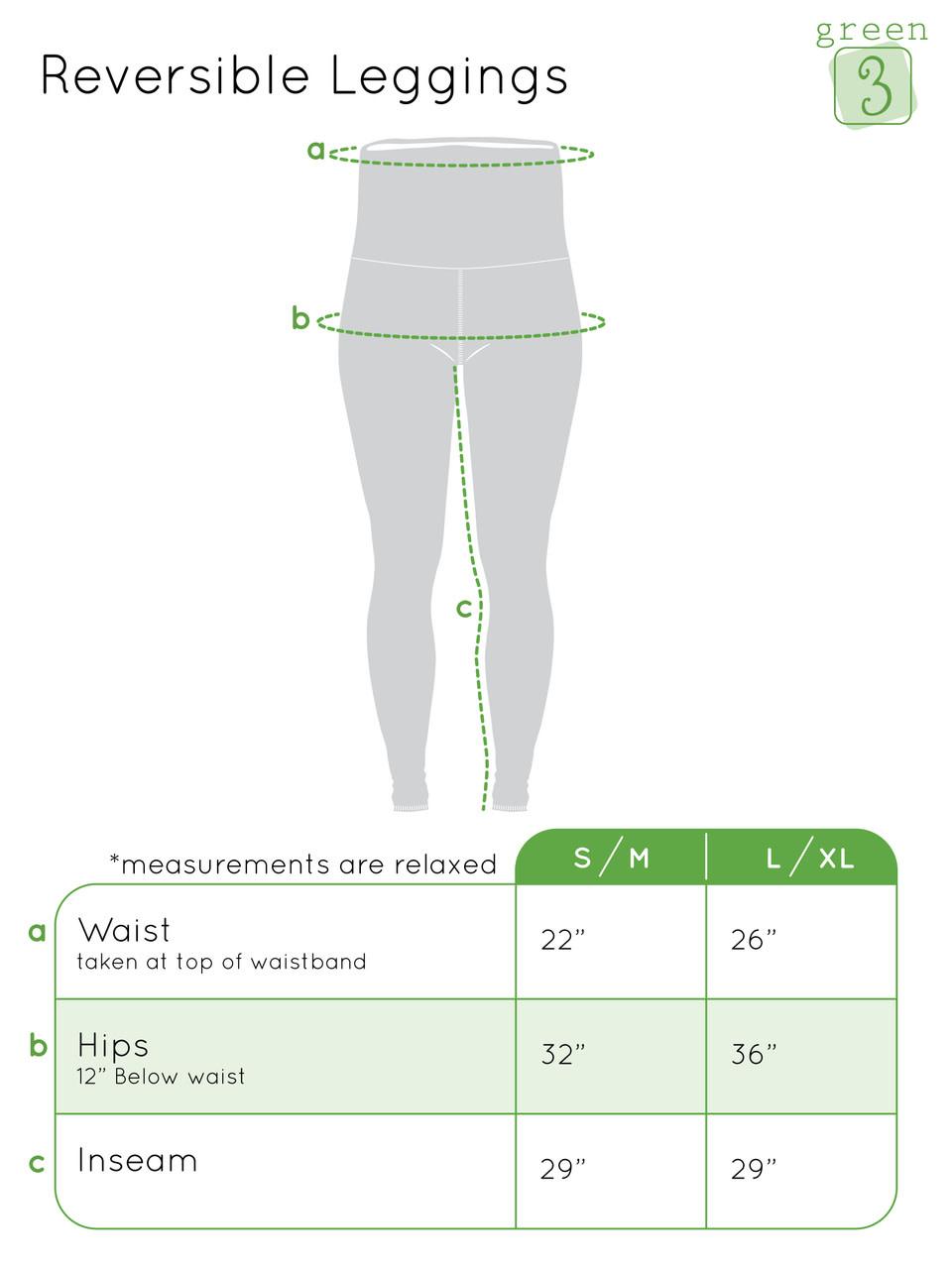 Green 3 Apparel Ornaments & Pine Reversible Leggings