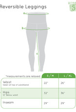 Green 3 Apparel Cat & Houndstooth Reversible Leggings