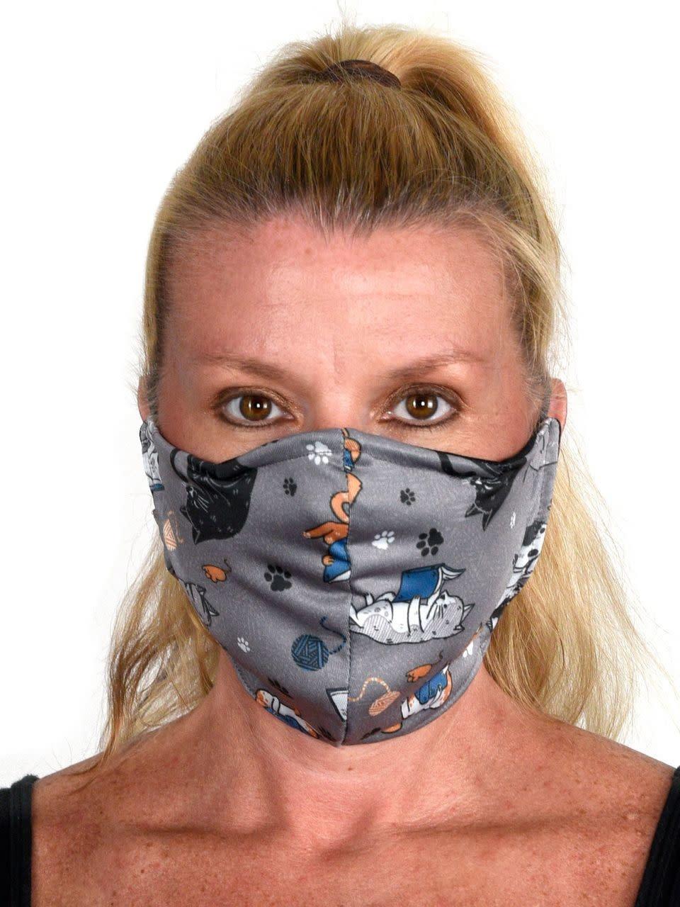 Green 3 Apparel Reversible Face Mask