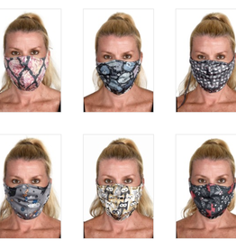 Green 3 Apparel Reversible Face Mask