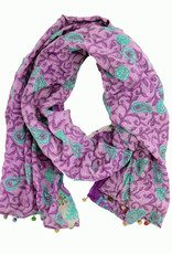 Minga Imports Cotton Sari Scarf