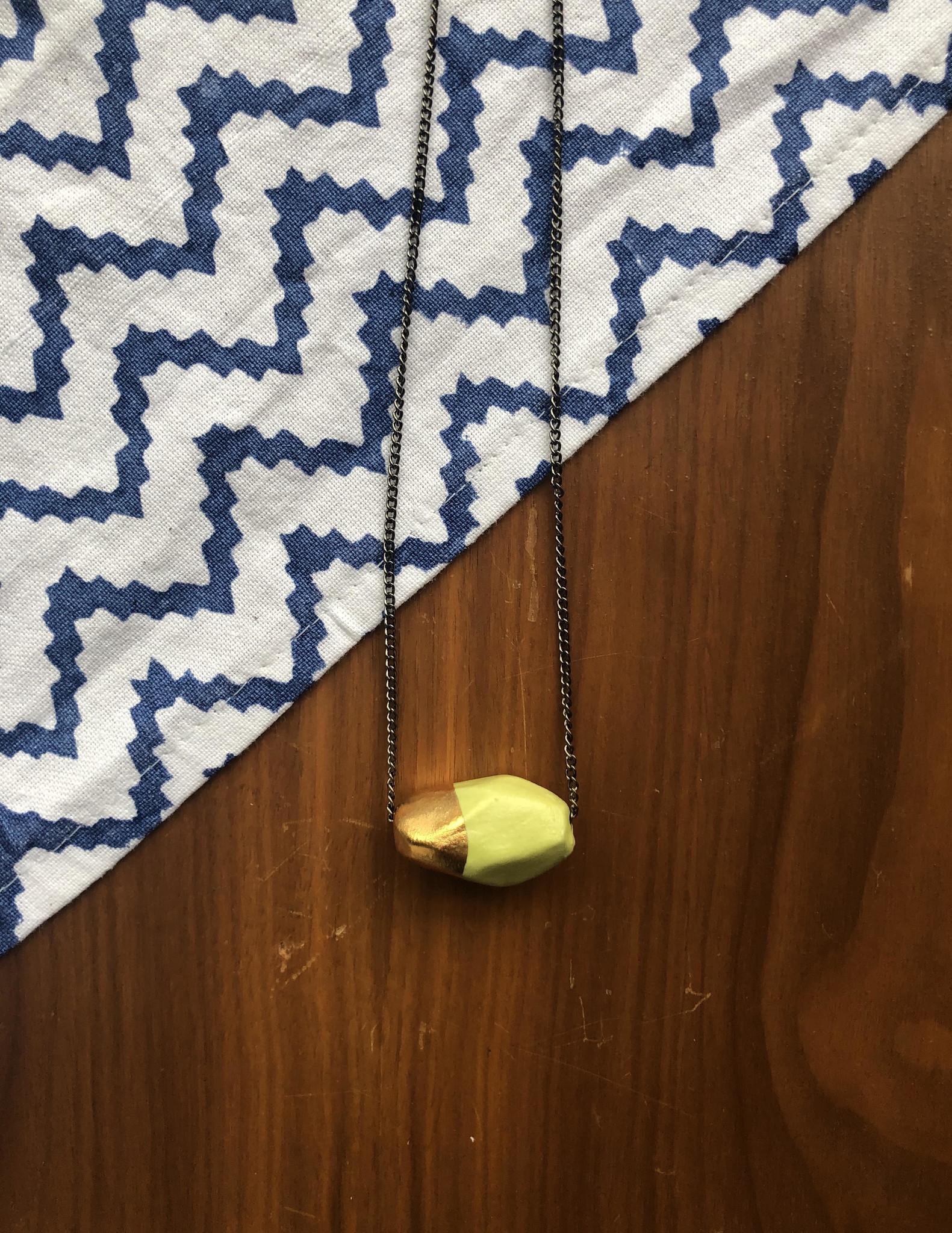 Mint Gold Necklace