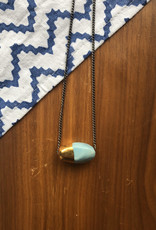 Tulip Gold Necklace