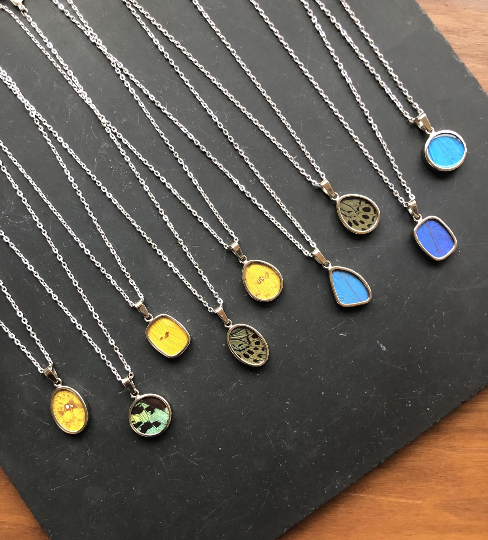 Minga Imports Butterfly Necklace
