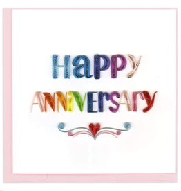 Quilling Card Happy Anniversary